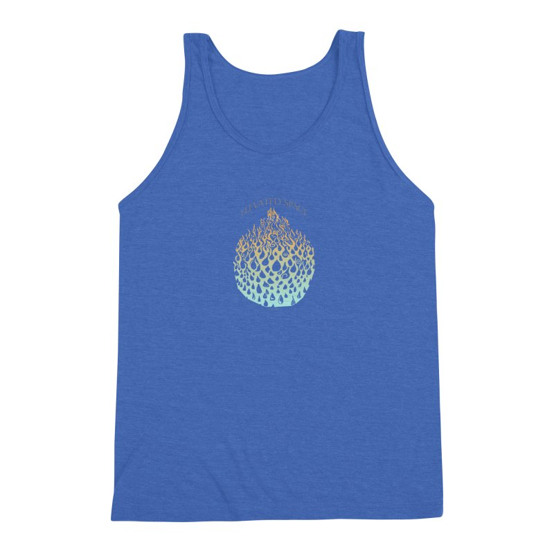 Fire to Water Men's Triblend Tank by Elevated Space