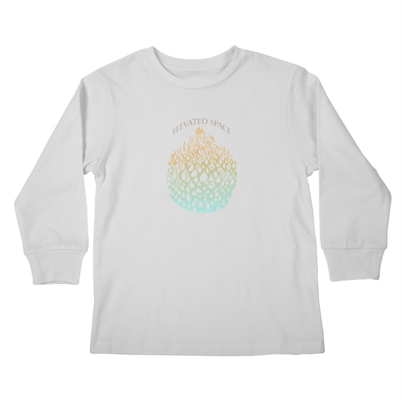 Fire to Water Kids Longsleeve T-Shirt by Elevated Space