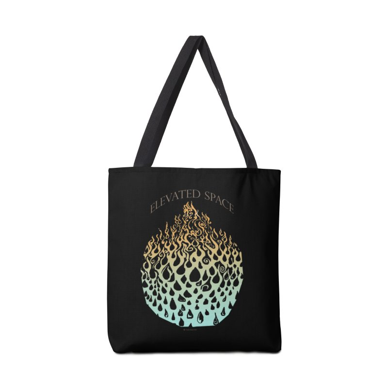 Fire to Water Accessories Tote Bag Bag by Elevated Space