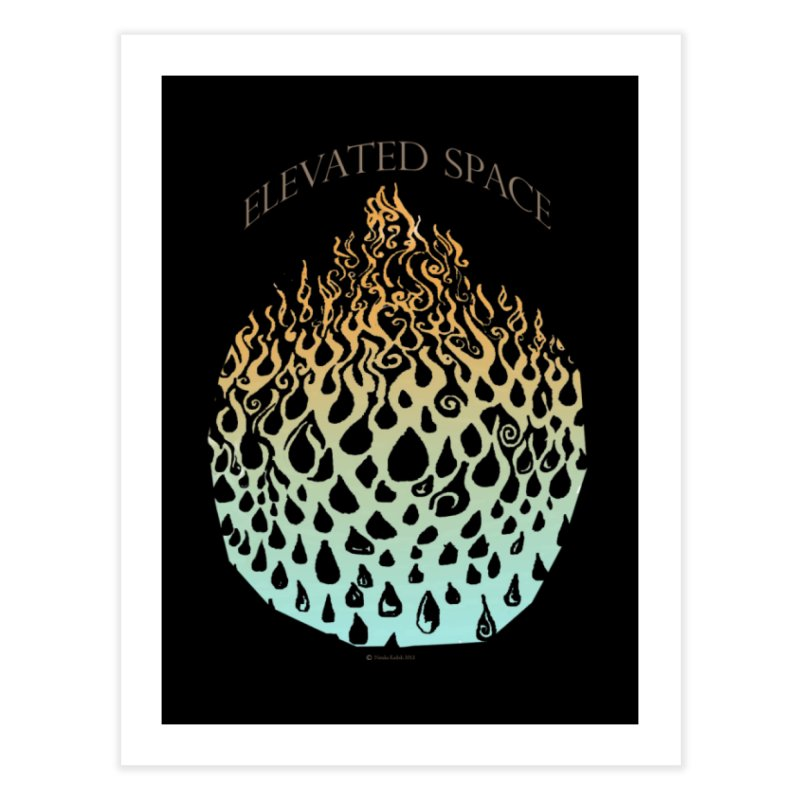 Fire to Water Home Fine Art Print by Elevated Space