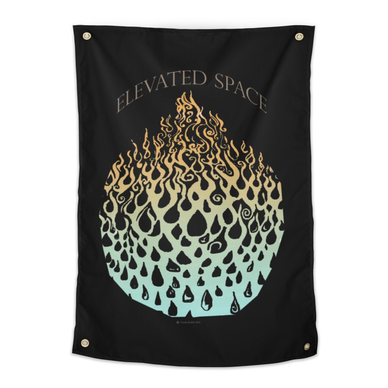 Fire to Water Home Tapestry by Elevated Space
