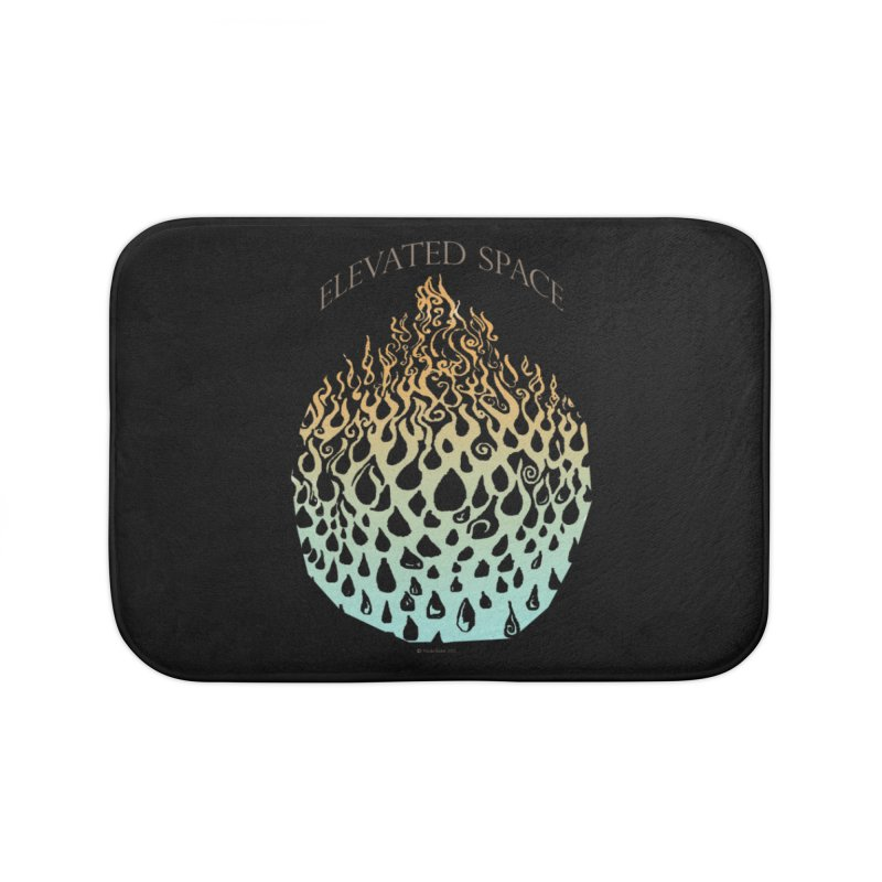 Fire to Water Home Bath Mat by Elevated Space