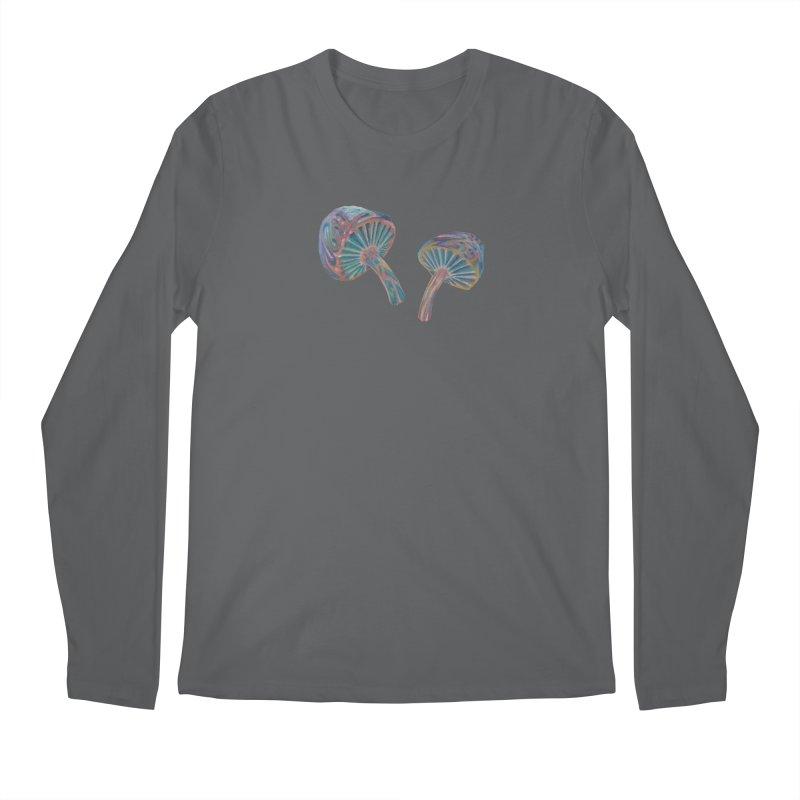 Rainbow Mushroom Men's Longsleeve T-Shirt by Elevated Space