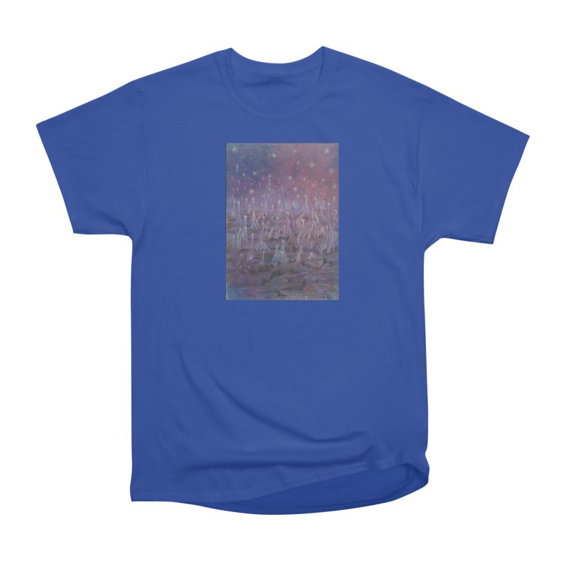 evaporate galaxy Men's T-Shirt by Elevated Space