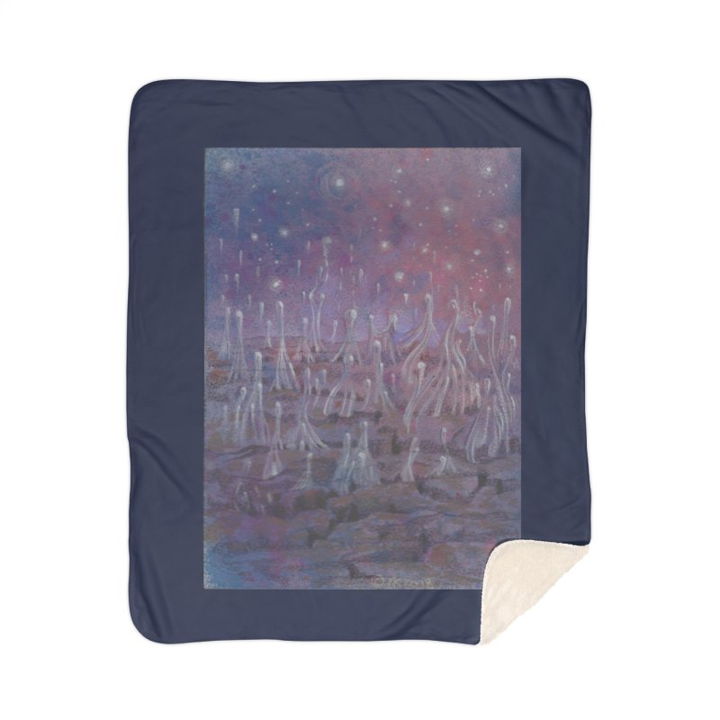 evaporate galaxy Home Sherpa Blanket Blanket by Elevated Space