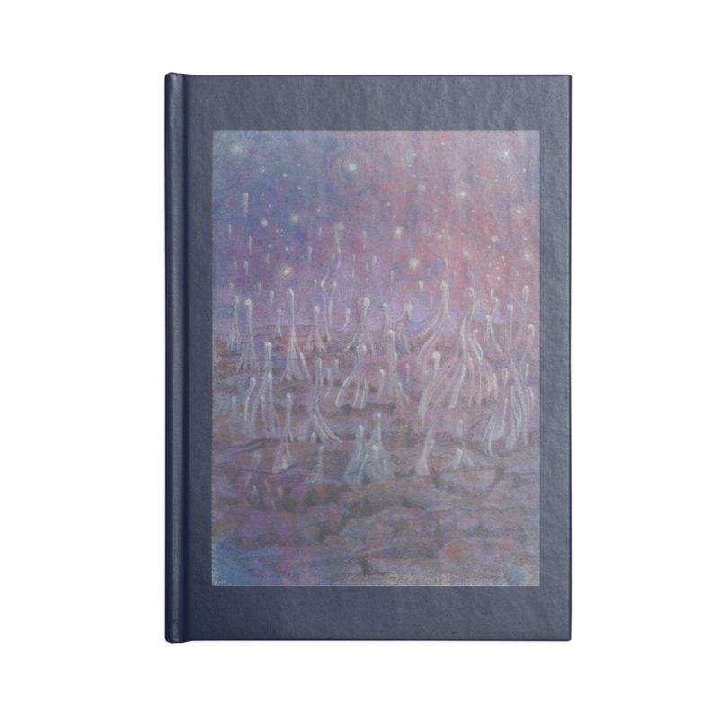 evaporate galaxy Accessories Lined Journal Notebook by Elevated Space