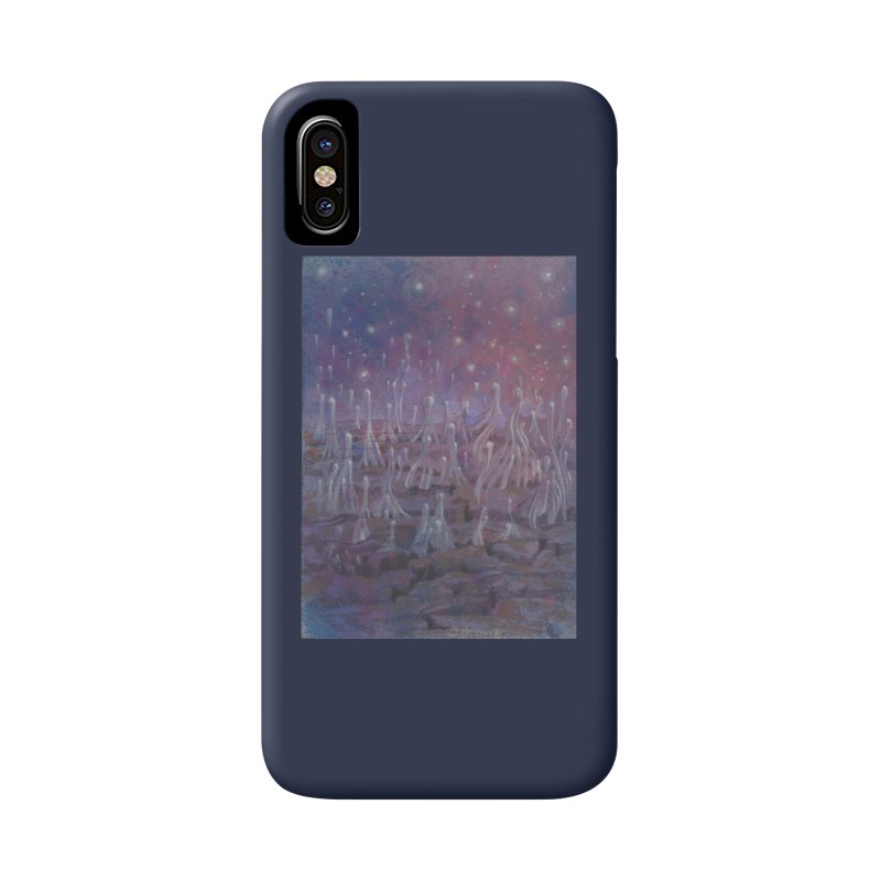 evaporate galaxy Accessories Phone Case by Elevated Space