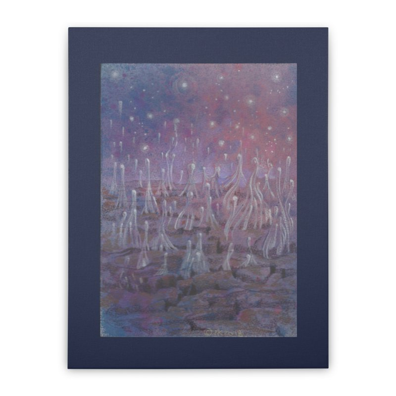 evaporate galaxy Home Stretched Canvas by Elevated Space