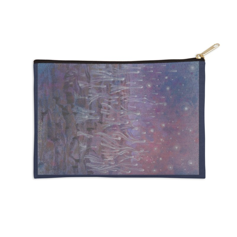 evaporate galaxy Accessories Zip Pouch by Elevated Space