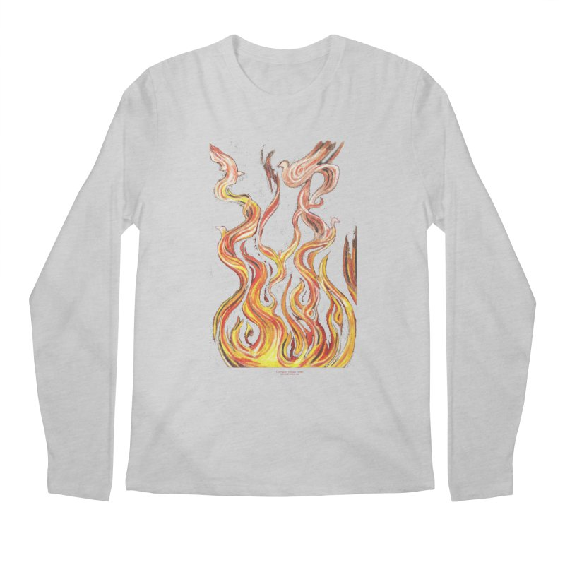 peace above the turmoil Men's Regular Longsleeve T-Shirt by Elevated Space