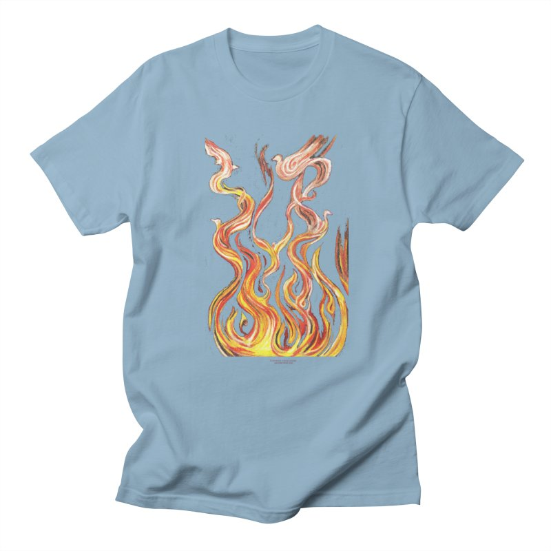 peace above the turmoil Women's Regular Unisex T-Shirt by Elevated Space