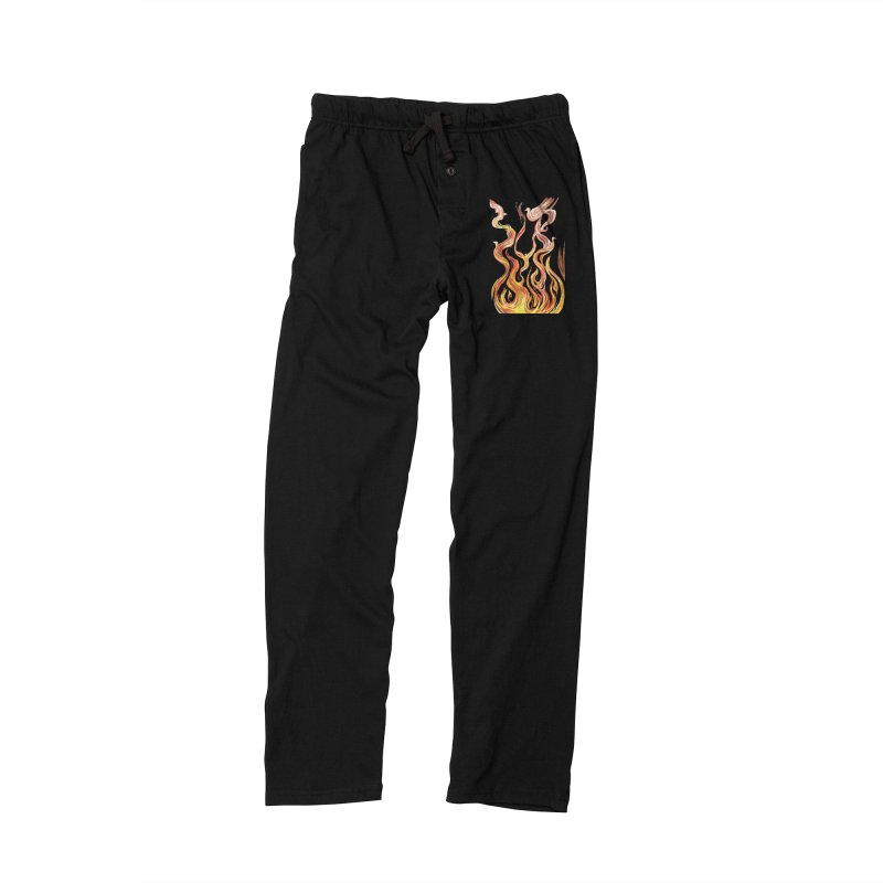 peace above the turmoil Men's Lounge Pants by Elevated Space