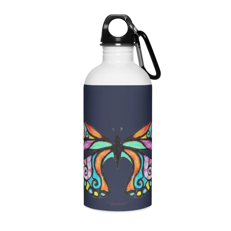 Butterfly Accessories Water Bottle by Elevated Space