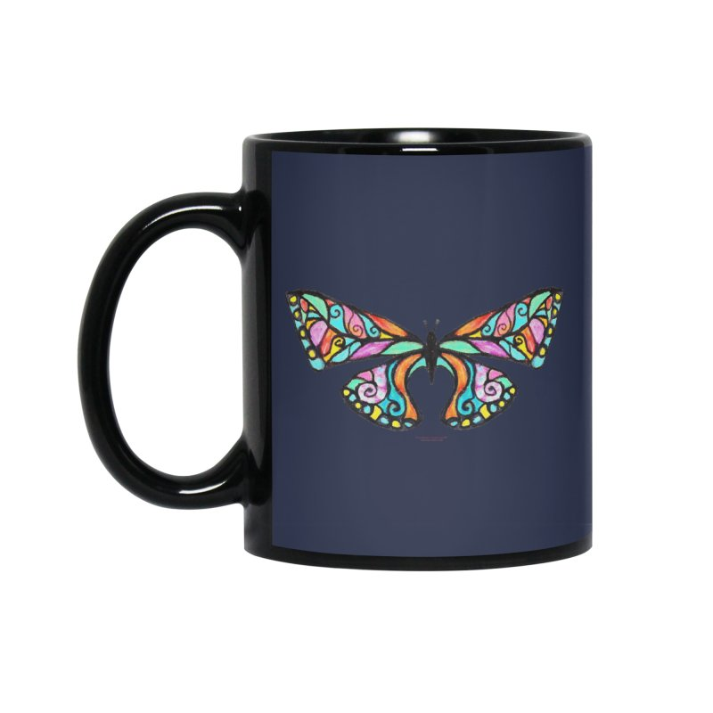 Butterfly Accessories Standard Mug by Elevated Space