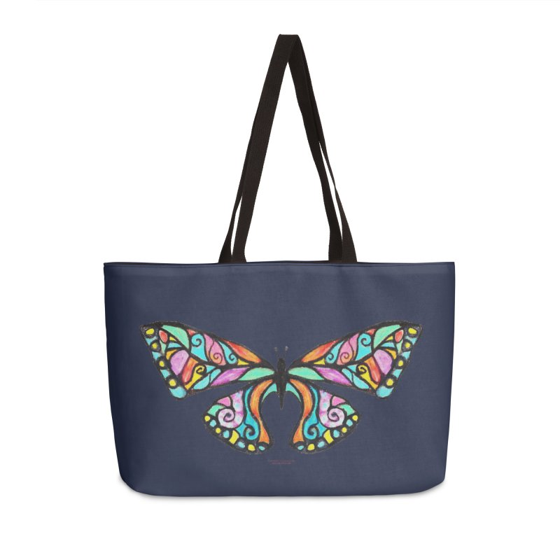 Butterfly Accessories Weekender Bag Bag by Elevated Space
