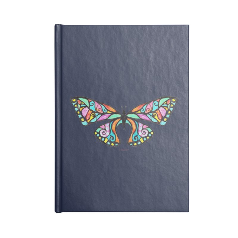 Butterfly Accessories Blank Journal Notebook by Elevated Space