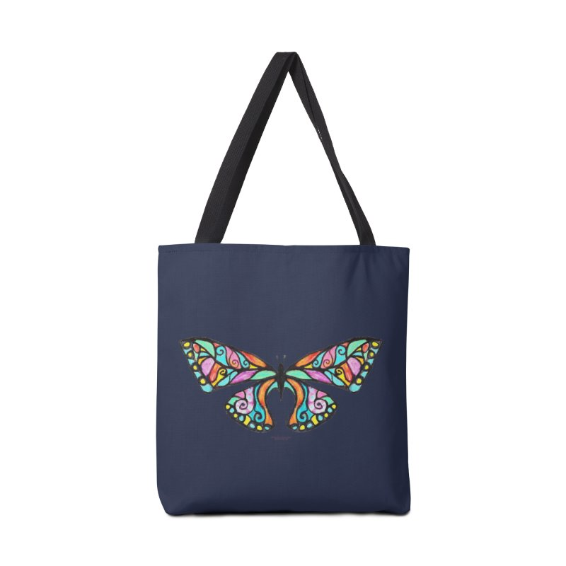 Butterfly Accessories Tote Bag Bag by Elevated Space