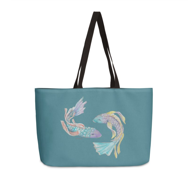 Koi Accessories Weekender Bag Bag by Elevated Space