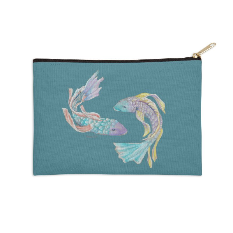 Koi Accessories Zip Pouch by Elevated Space