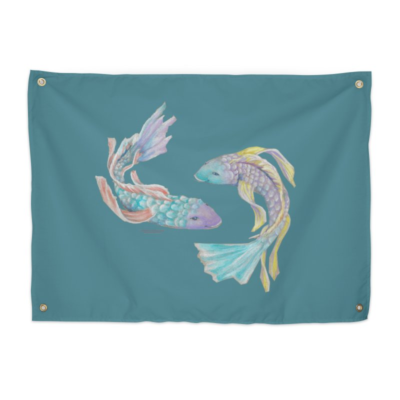 Koi Home Tapestry by Elevated Space