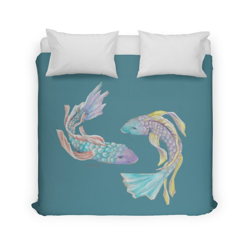 Koi Home Duvet by Elevated Space