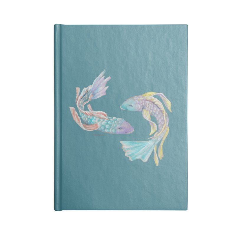 Koi Accessories Lined Journal Notebook by Elevated Space