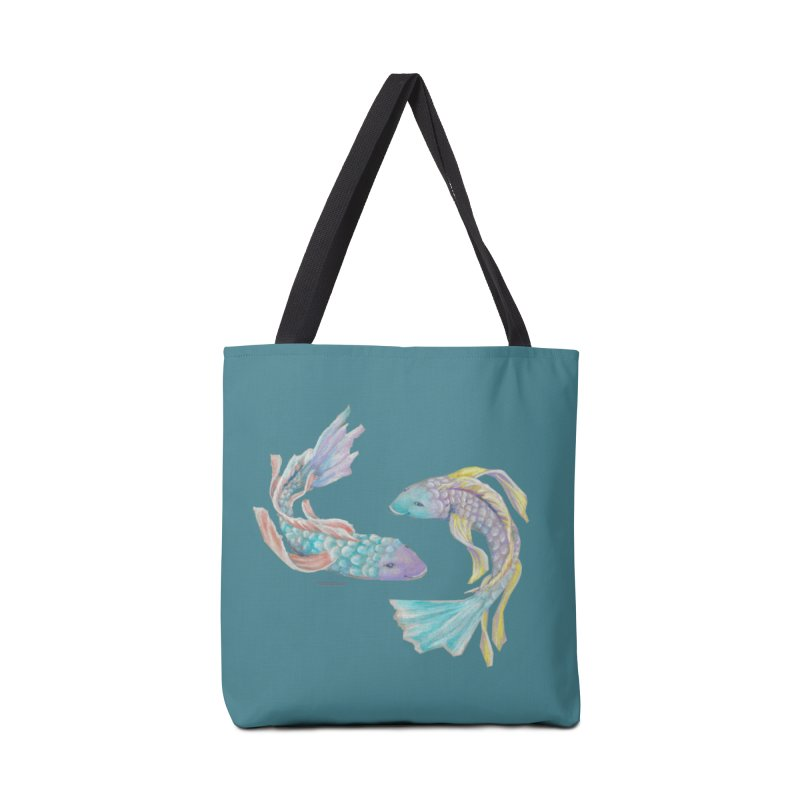 Koi Accessories Tote Bag Bag by Elevated Space
