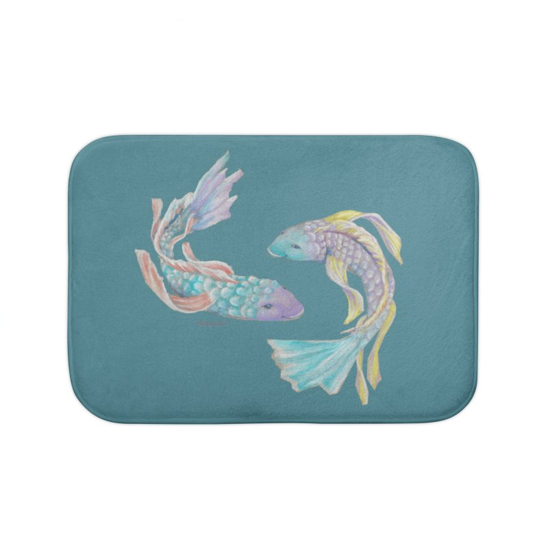 Koi Home Bath Mat by Elevated Space