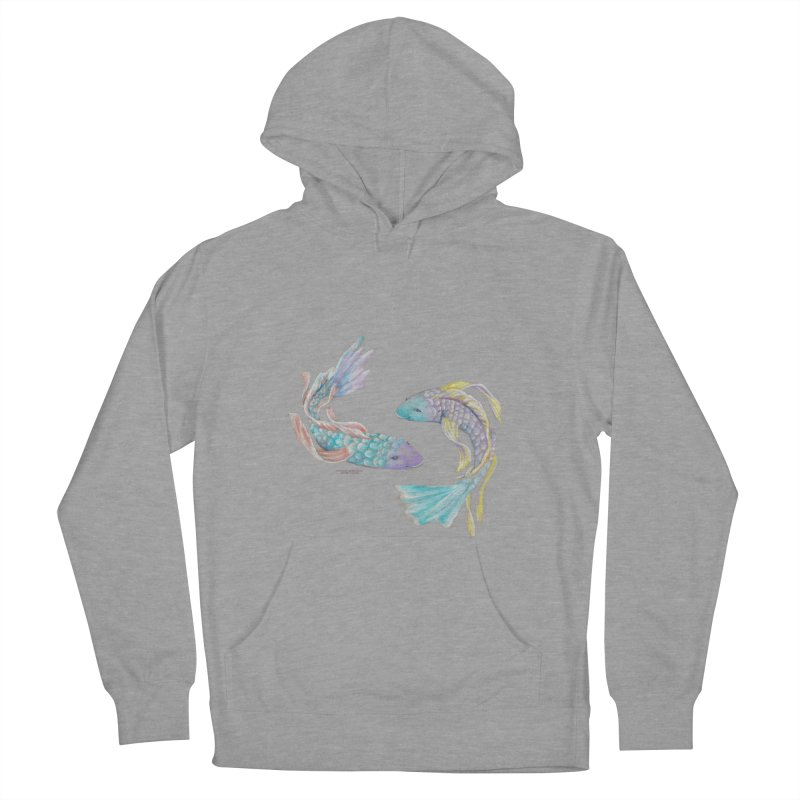 Koi Men's French Terry Pullover Hoody by Elevated Space