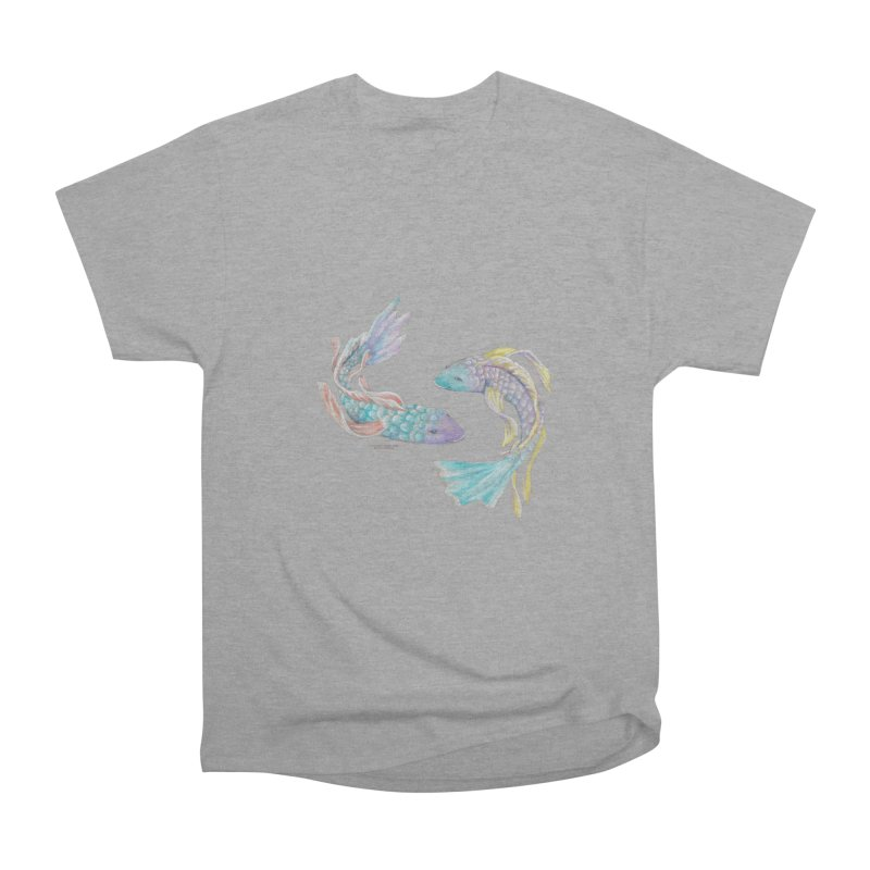 Koi Men's Heavyweight T-Shirt by Elevated Space