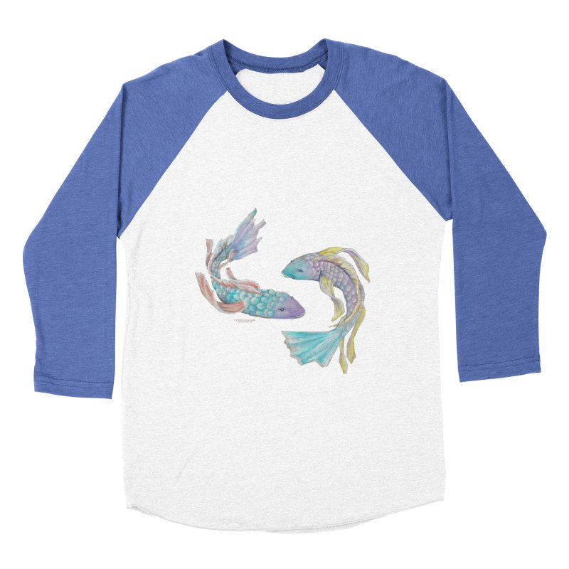 Koi Men's Baseball Triblend Longsleeve T-Shirt by Elevated Space