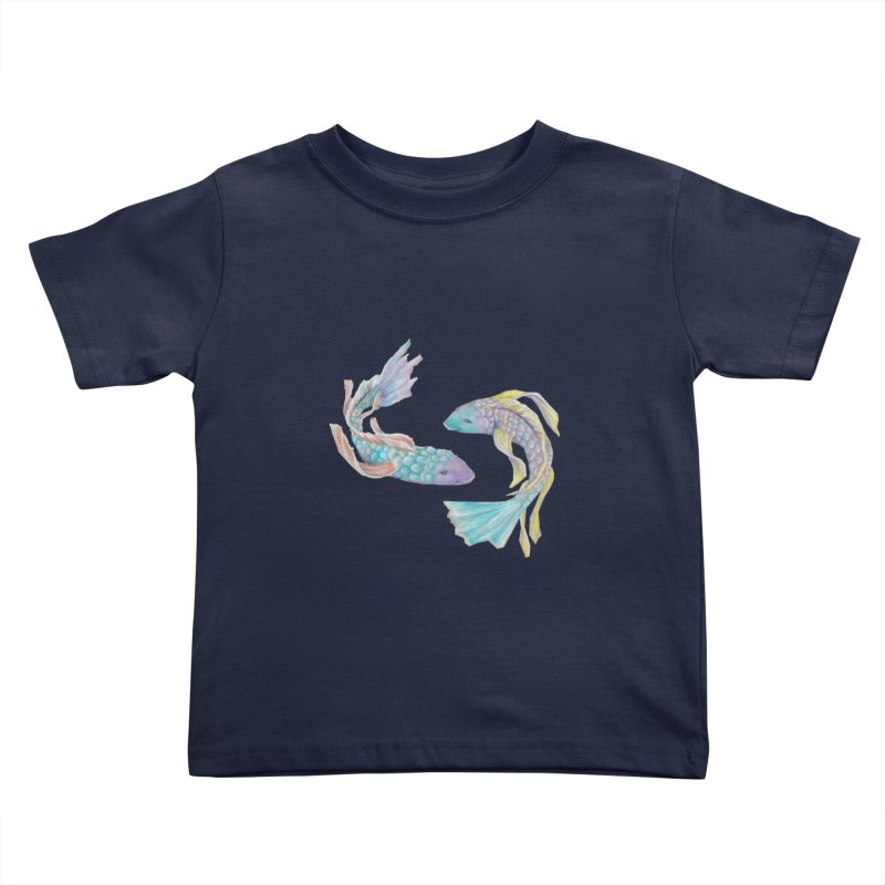 Koi Kids Toddler T-Shirt by Elevated Space