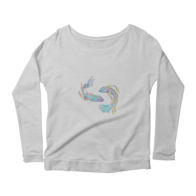 Koi Women's Scoop Neck Longsleeve T-Shirt by Elevated Space