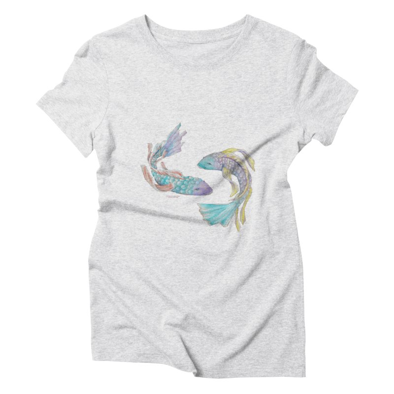 Koi Women's Triblend T-Shirt by Elevated Space