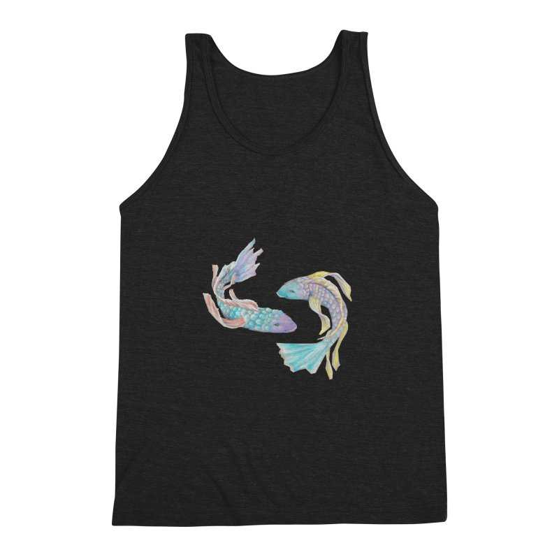 Koi Men's Triblend Tank by Elevated Space