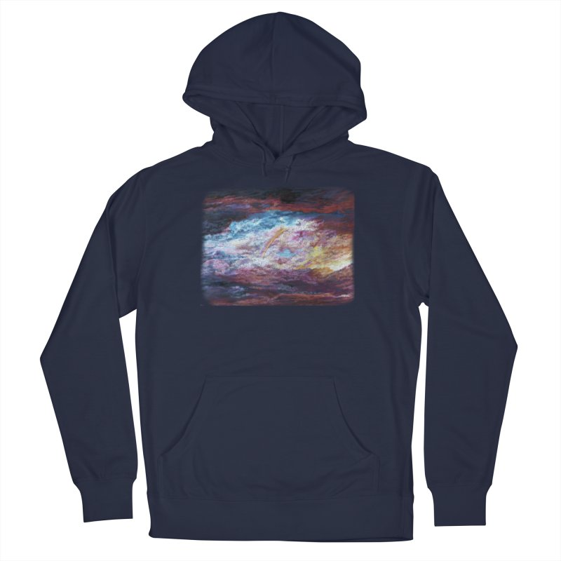 Clouds1 Men's French Terry Pullover Hoody by Elevated Space