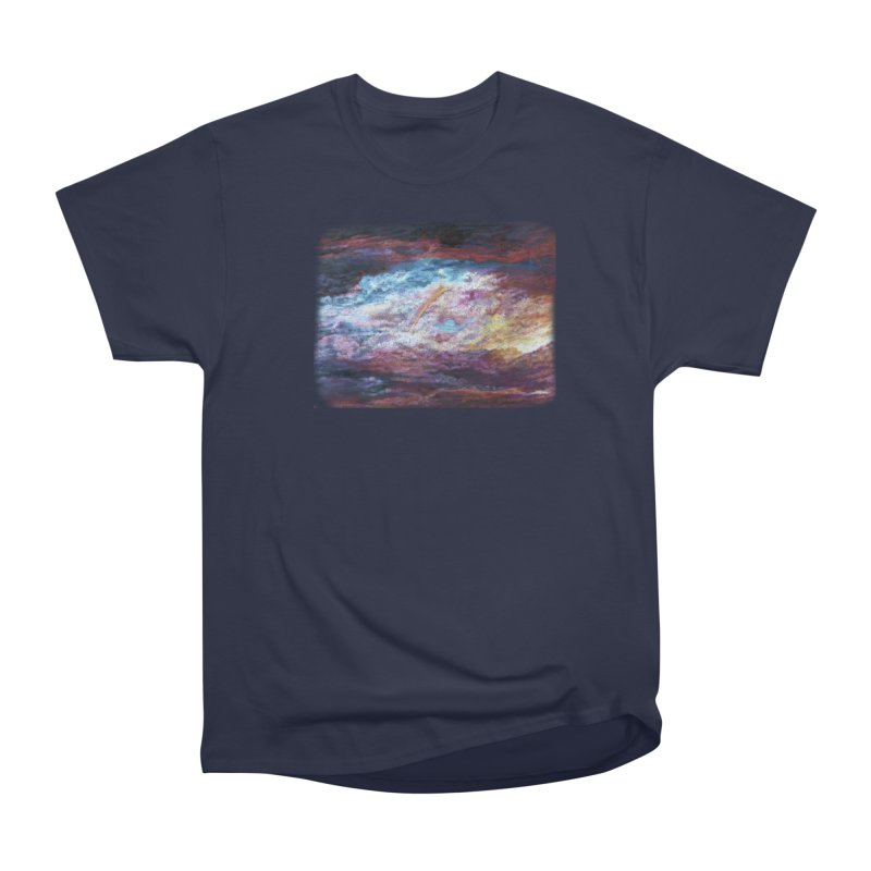 Clouds1 Men's Heavyweight T-Shirt by Elevated Space