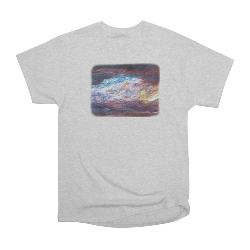 Clouds1 Women's Heavyweight Unisex T-Shirt by Elevated Space
