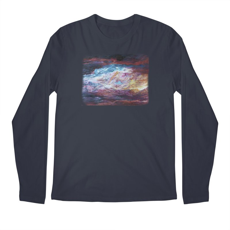 Clouds1 Men's Regular Longsleeve T-Shirt by Elevated Space