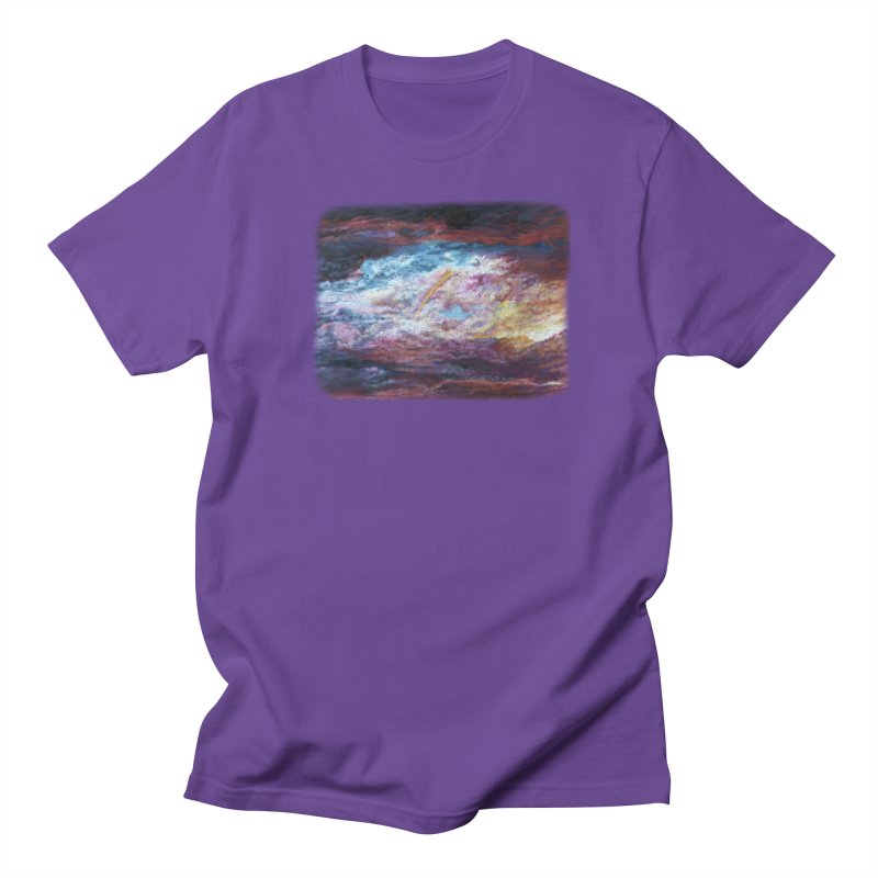 Clouds1 Women's Regular Unisex T-Shirt by Elevated Space