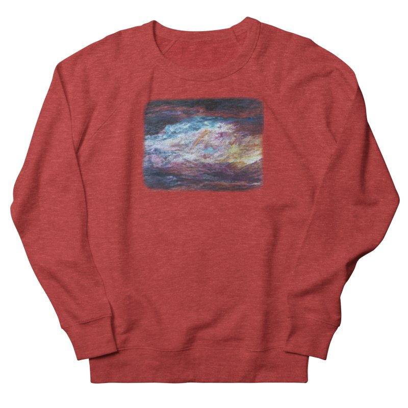 Clouds1 Women's French Terry Sweatshirt by Elevated Space