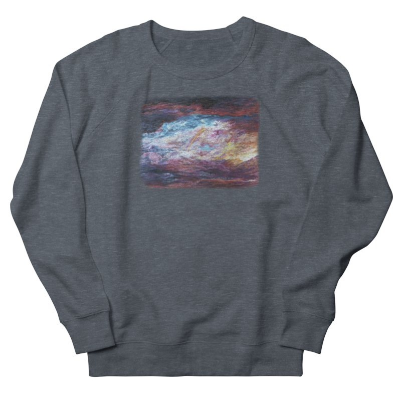 Clouds1 Men's French Terry Sweatshirt by Elevated Space