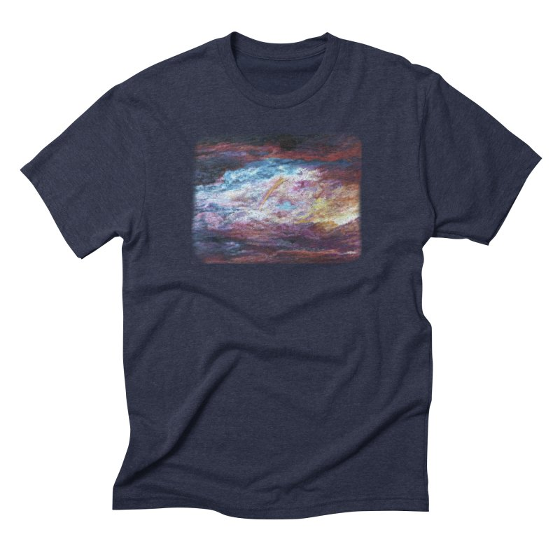 Clouds1 Men's Triblend T-Shirt by Elevated Space