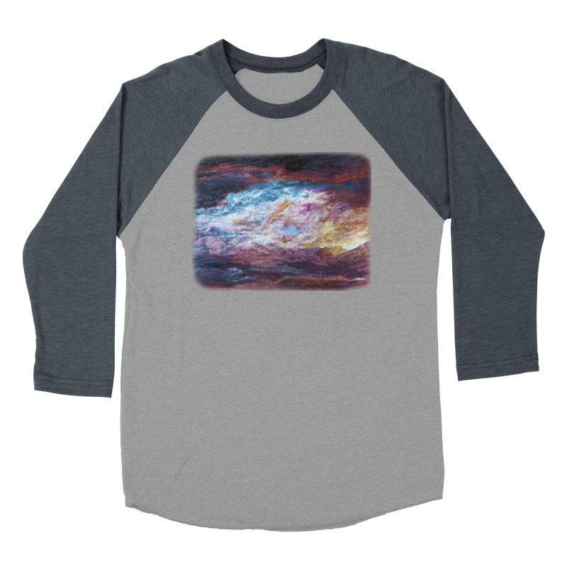 Clouds1 Women's Baseball Triblend Longsleeve T-Shirt by Elevated Space