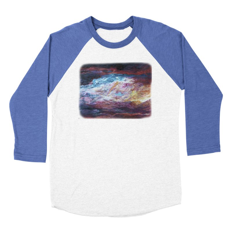 Clouds1 Men's Baseball Triblend Longsleeve T-Shirt by Elevated Space