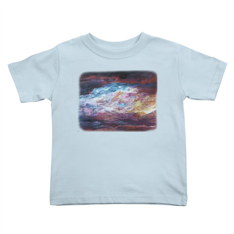 Clouds1 Kids Toddler T-Shirt by Elevated Space