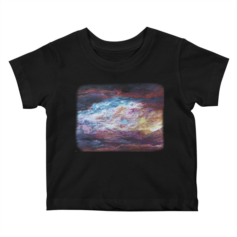 Clouds1 Kids Baby T-Shirt by Elevated Space