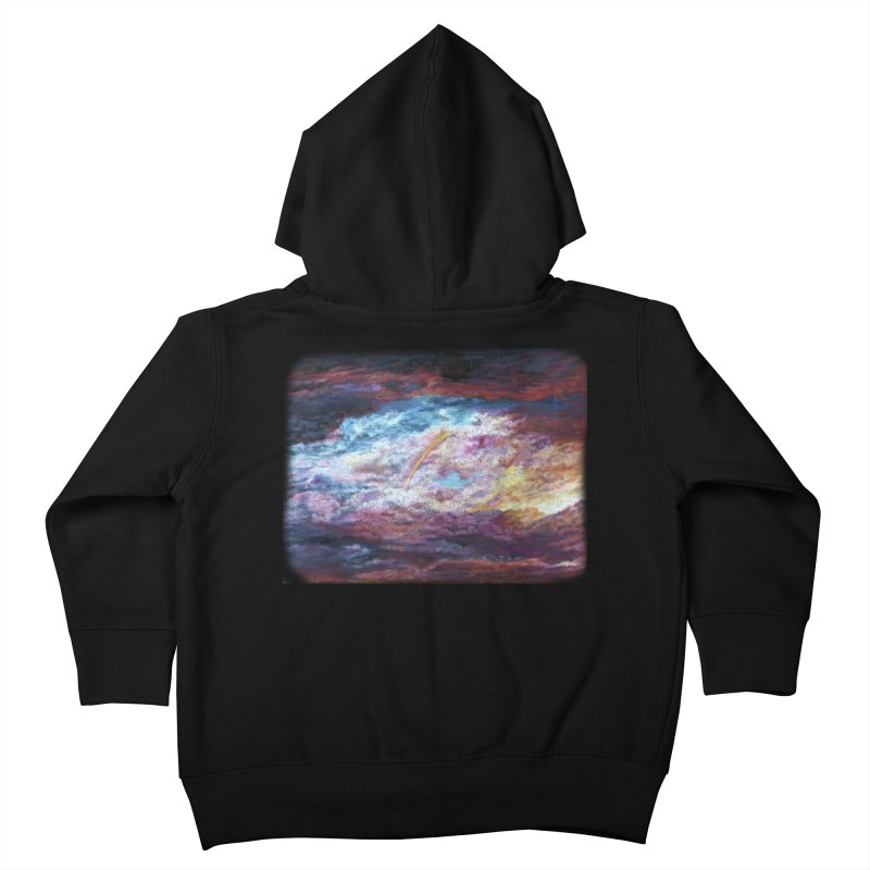 Clouds1 Kids Toddler Zip-Up Hoody by Elevated Space