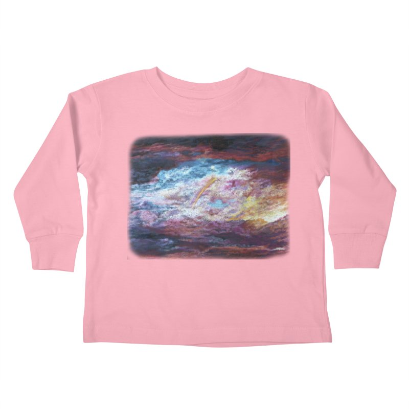 Clouds1 Kids Toddler Longsleeve T-Shirt by Elevated Space