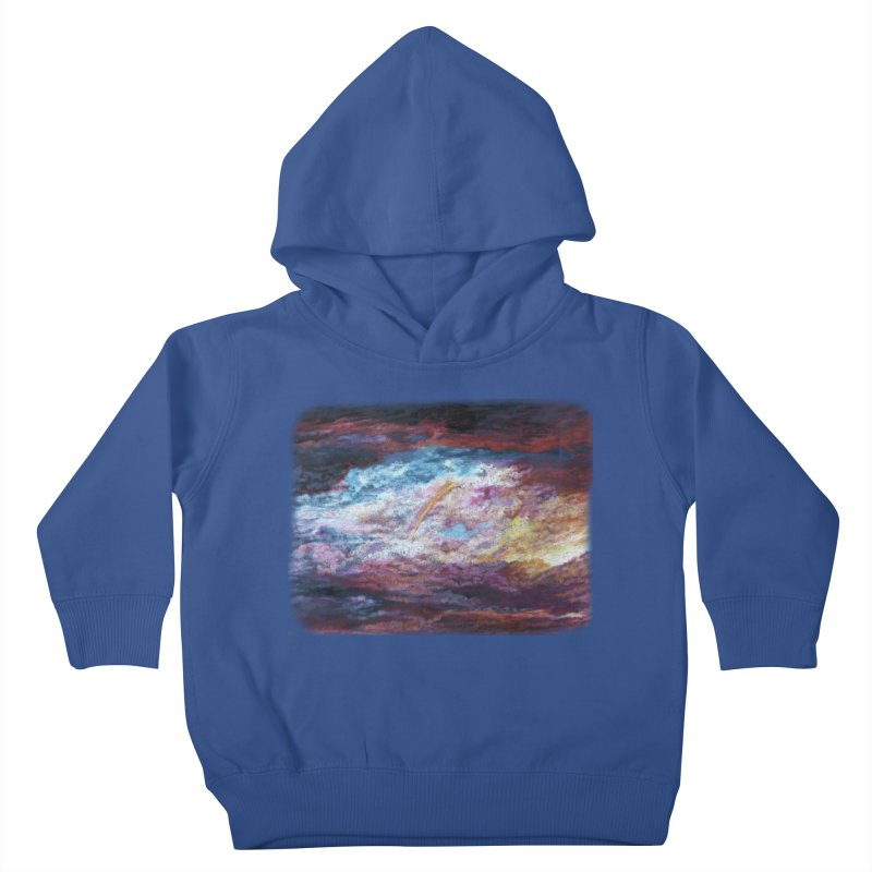 Clouds1 Kids Toddler Pullover Hoody by Elevated Space